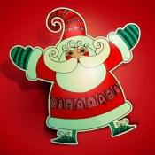 Merry Christmas Wallpaper – Xmas Tree Light Decoration Santa & more Pics