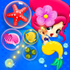 sitaram sanaka - bubble shooter mermaid -   bubble game for kids アートワーク
