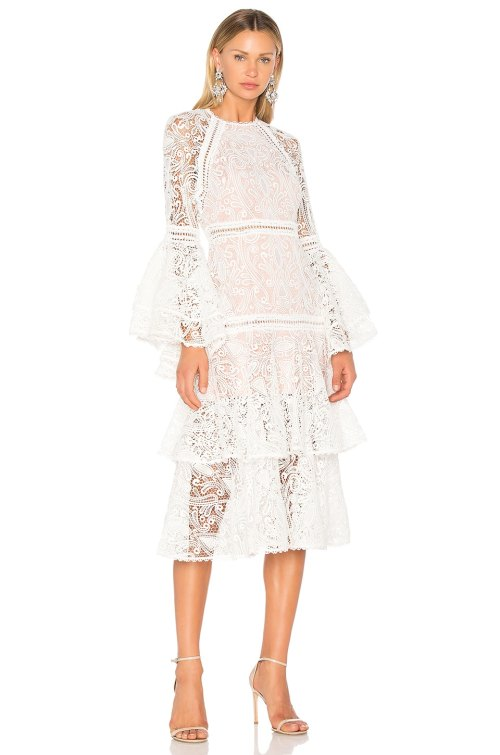 Medium Of White Lace Dresses
