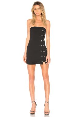 Small Of Lace Up Dress