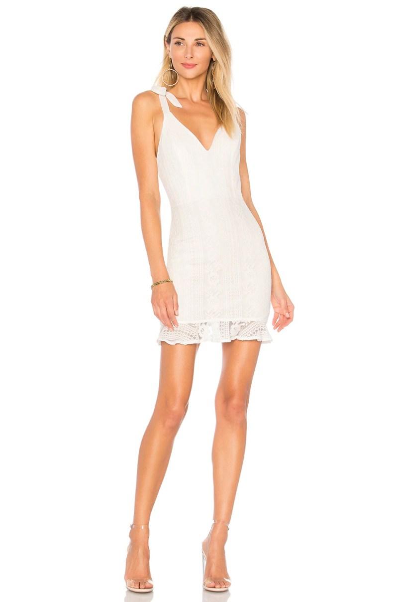 Large Of Lace White Dress