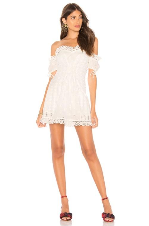 Medium Of Lace Up Dress