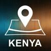 Yauhen Zaturanau - ケニア, オフラインオートGPS アートワーク