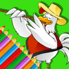 Piyawan Chamnarnchanan - Kids Games Coloring Drawing Rooster Version アートワーク