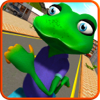 Rizwan Yousuf - Stupid Frog Rampage 3D アートワーク