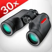Binoculars+ (30x zoom, photo & video recording)
