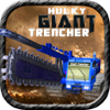 Free 3D Car Racing Games - Hulky Giant Trencher アートワーク