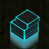 Bryan Evans - Neon Stack Blocks アートワーク