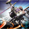 Carolina Vergara - A Battle Copter Speed : Speed in Flight アートワーク