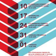Kunst & Kultur im Schtadl 2013 - Flyer - back