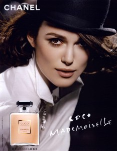 coco mademoiselle ad hat