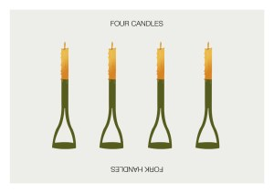 fork-candles