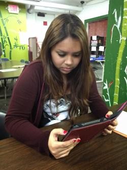 10th grader at Envision Academy, Oakland, CA.