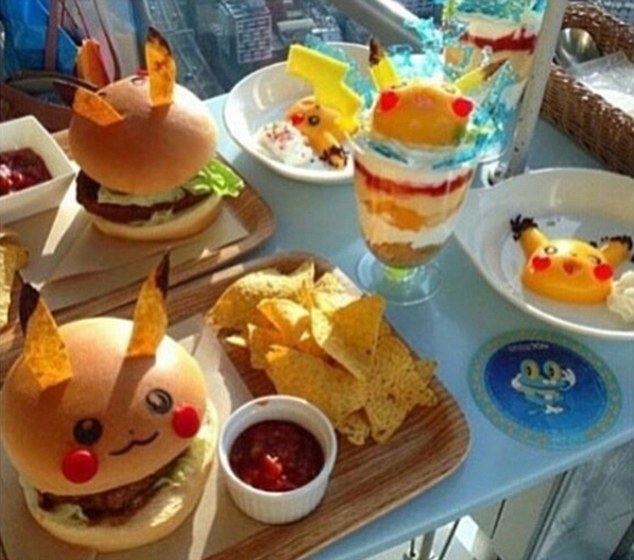 Burger Pikachu (dailymail.co.uk)