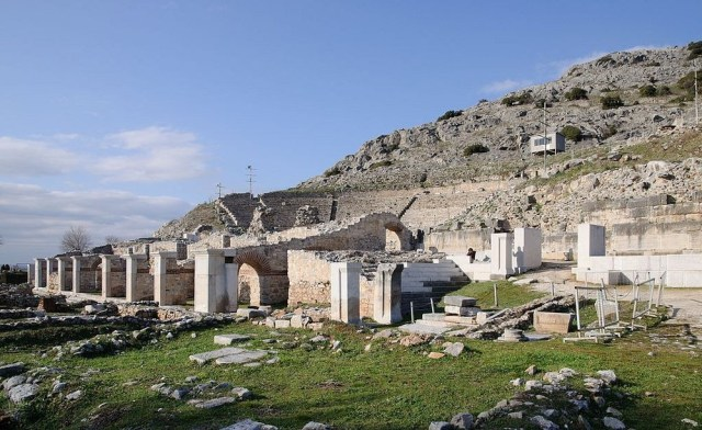 Situs Arkeologi Philipi, Yunani (amazingplanet.com)