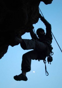 Rock climbing in Islamabad