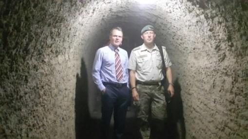 Danish Ambassador, Jesper Sorensen visits the Military College of Engineering in Risalpur, Pakistan.