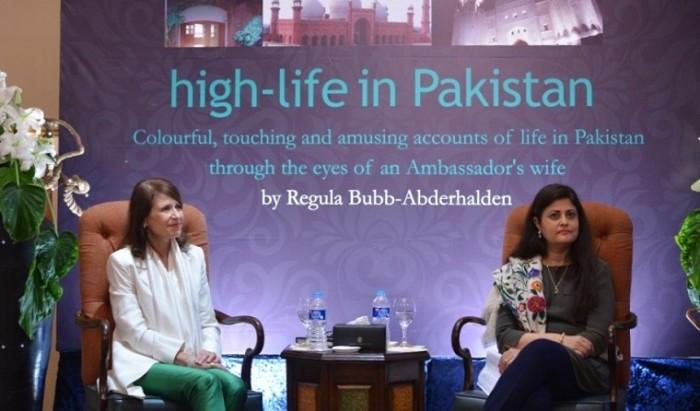 Regula Bubb- Abderhalden's book launch in Islamabad