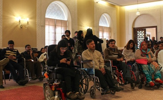Participants at Policy dialogue on 2015 International Day of Persons with Disabilities held in Islamabad.  Photo by Sana Jamal