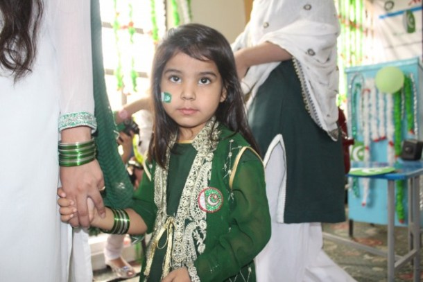 Pakistan's Independence Day 2016 celebrations by Hashoo Foundation, Rawalpindi
