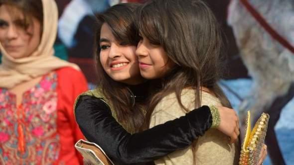 people greet in Islamabad