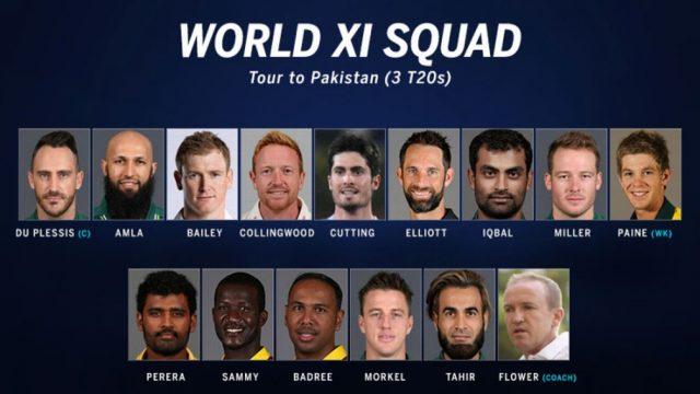 World XI Superstars Arrive In Pakistan