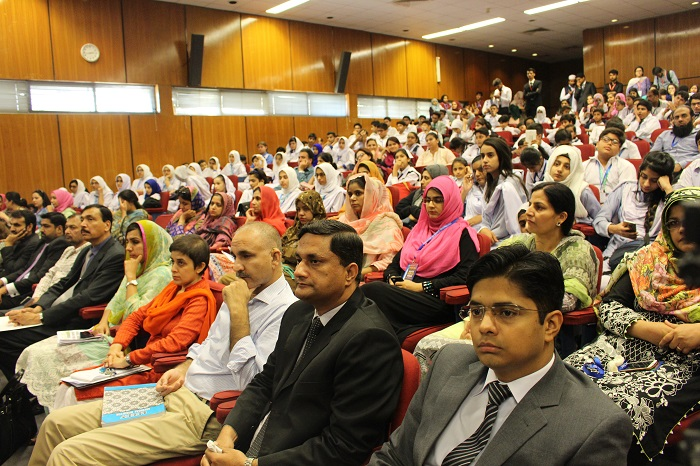 World Space Week 2017 event at Institute of Space Technology in Islamabad.