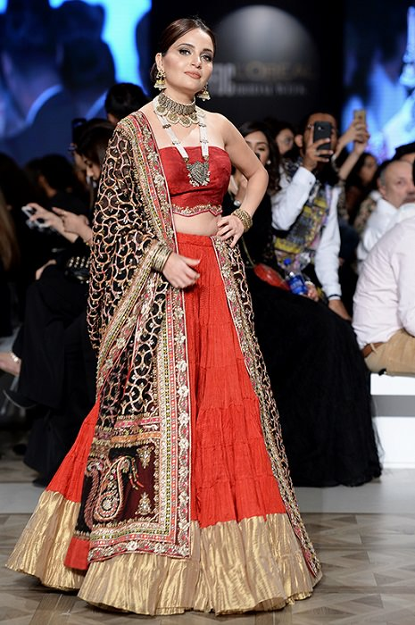 Armeena Khan for Misha Lakhani