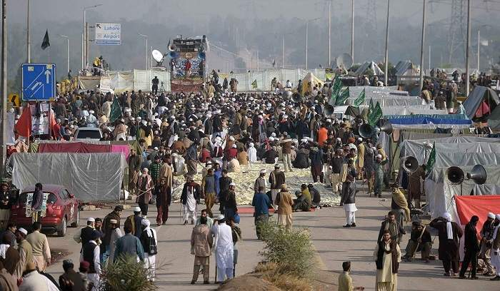Security during protests in Islamabad in last five years cost Rs 1 billion