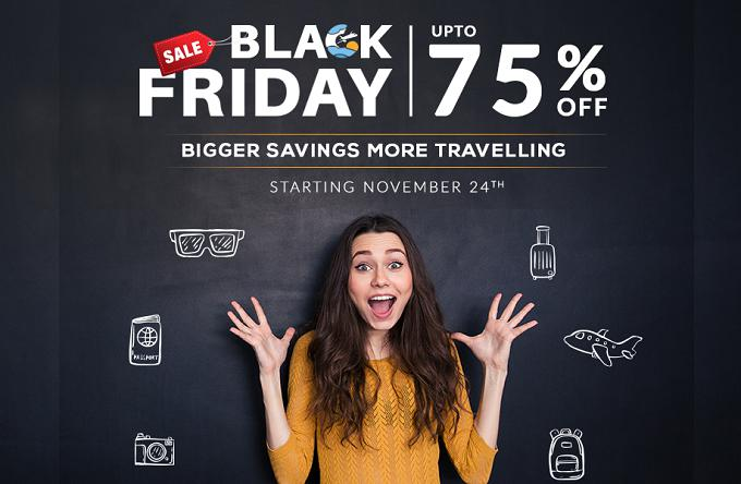 Black Friday 2017: Sastaticket.pk offers up to 75% off on hotels and flights