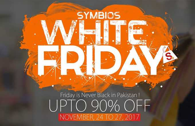 Symbios.pk White Friday 2017 deals start with Rs. 1 only