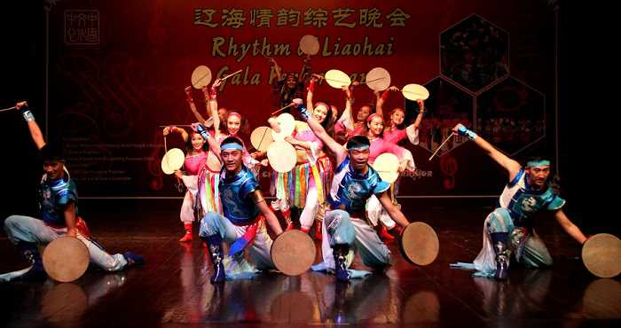 Chinese artists perform during the Rhythm of Liaohai Gala Performance in Islamabad, capital of Pakistan on Dec. 7, 2017.