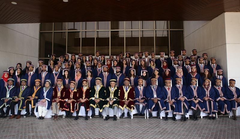 Fifth convocation of the Shifa Tameer-e-Millat University (STMU) in Islamabad