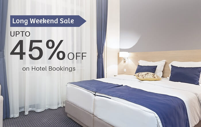 Sastaticket.pk offers upto 45% off on hotel booking in Pakistan