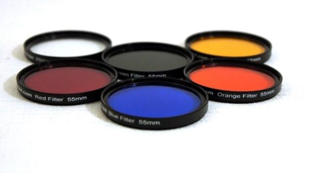 Filtros de colores para recursos creativos
