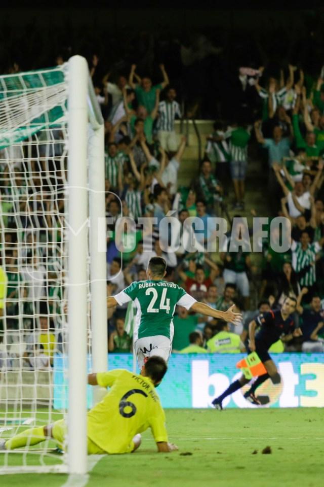 Gol de Rubén Castro frente al Villareal.