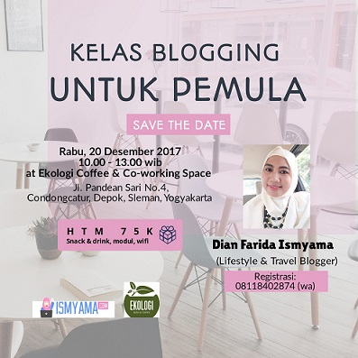 kelas blogging pemula