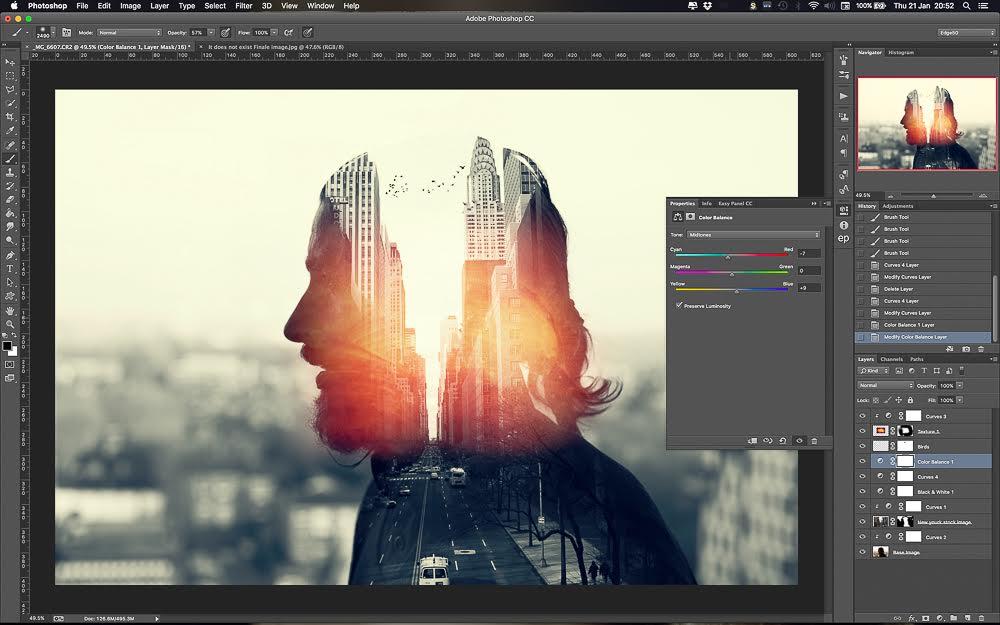 Come creare un'esposizione multipla con Photoshop
