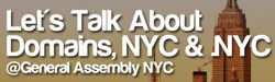 LET´S TALK ABOUT DOMAINS, NYC & .NYC