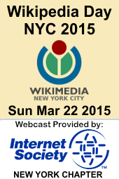 wikipedia day nyc 2015