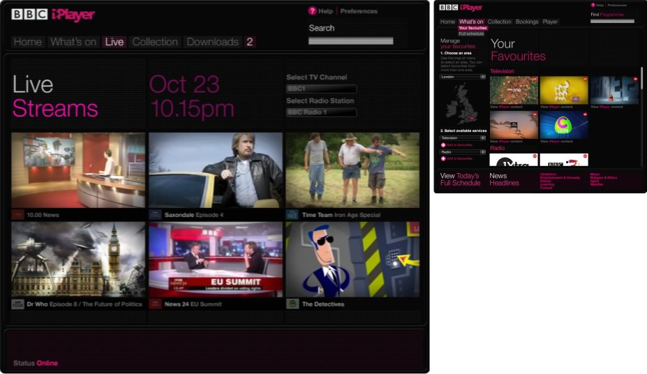 BBC iPlayer     UX and interface design      ISO 02 iplayer