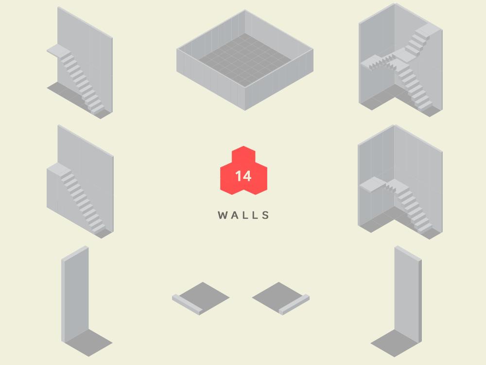 isometric walls