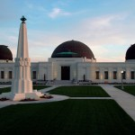 ISS-Above at The Griffith Observatory – Monday 10th March