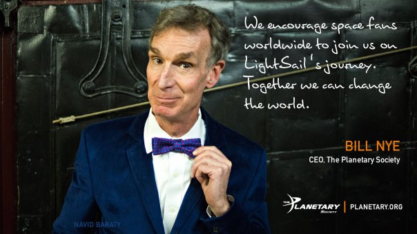 Bill Nye LightSail