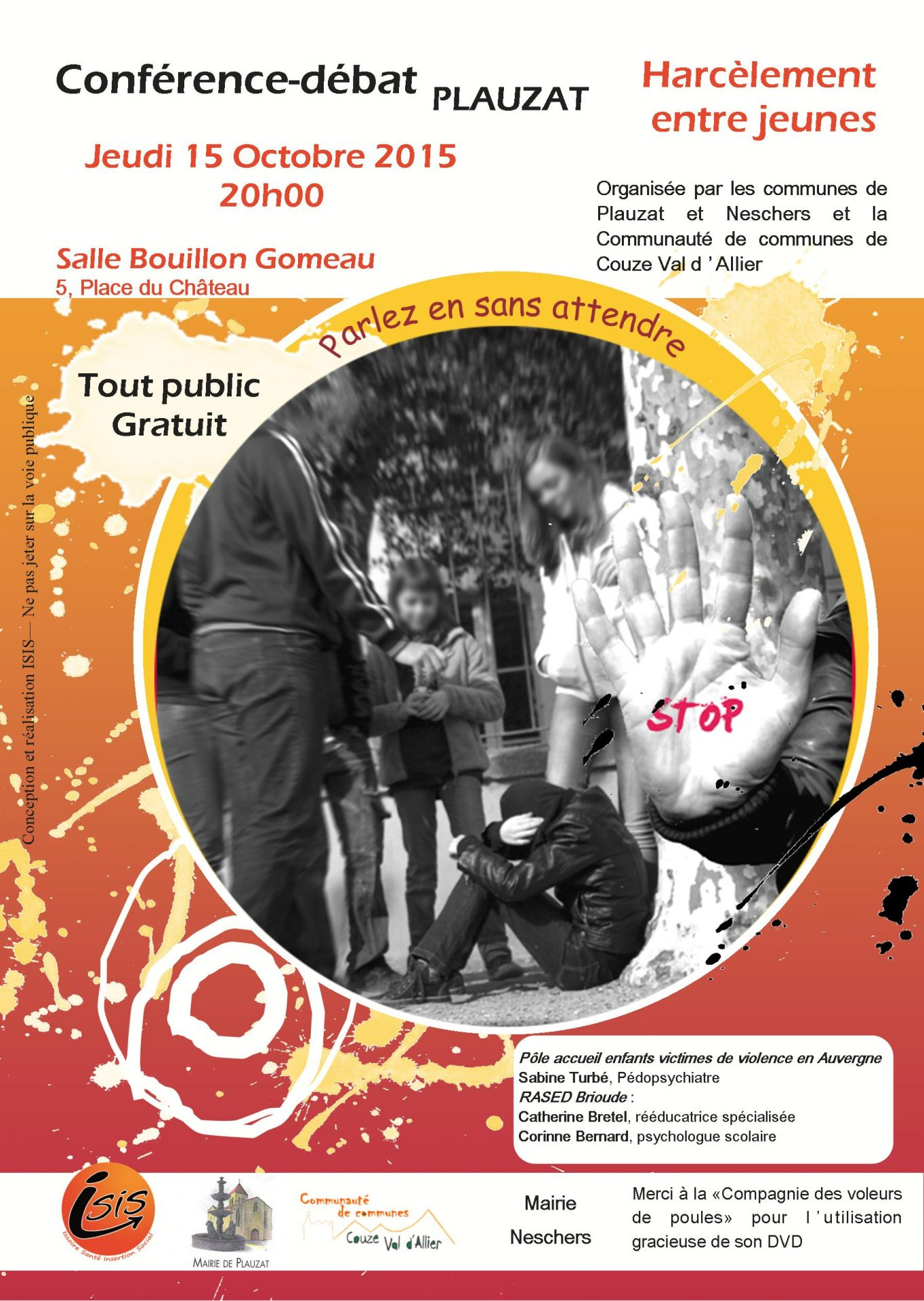 Flyer CF HARCELEMENT2015 A5