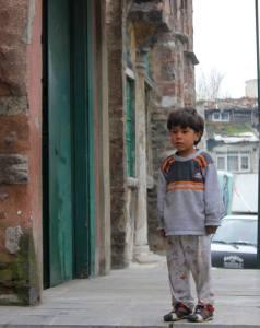 syrisches Flüchtlingskind in Istanbul