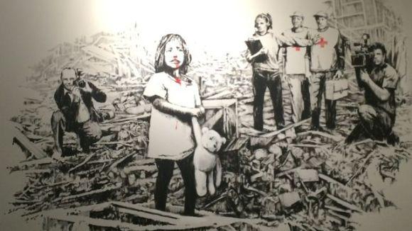 Banksy Street Art Istanbul