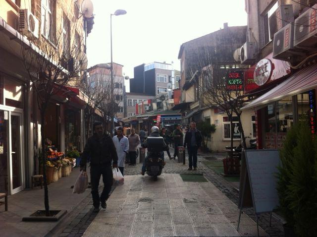 Ortaköy Nebenstraßen