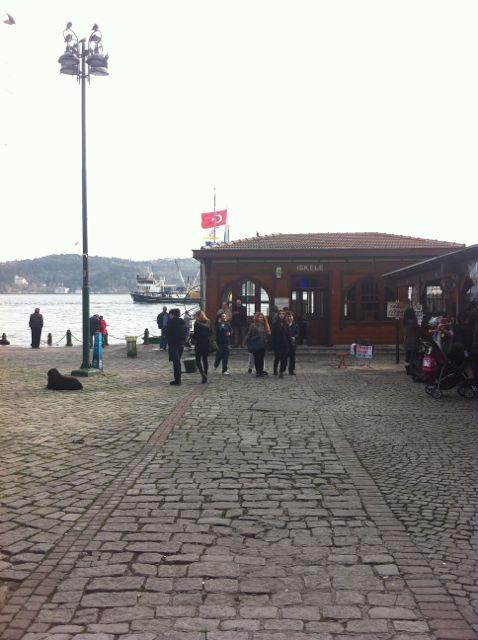 Ortaköy Hafen