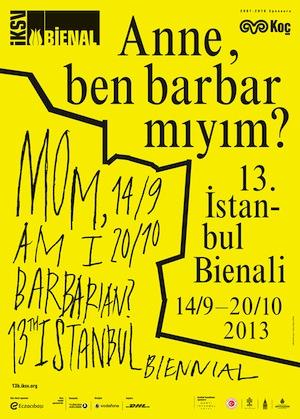 Poster Istanbul-Biennale